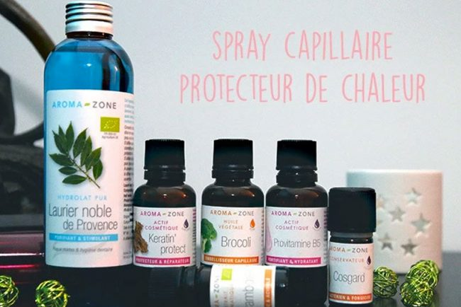 recette spray capillaire protecteur de chaleur the green blossom. Black Bedroom Furniture Sets. Home Design Ideas
