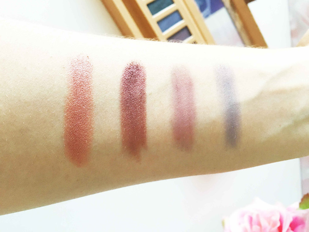 swatch palette couleur caramel 2