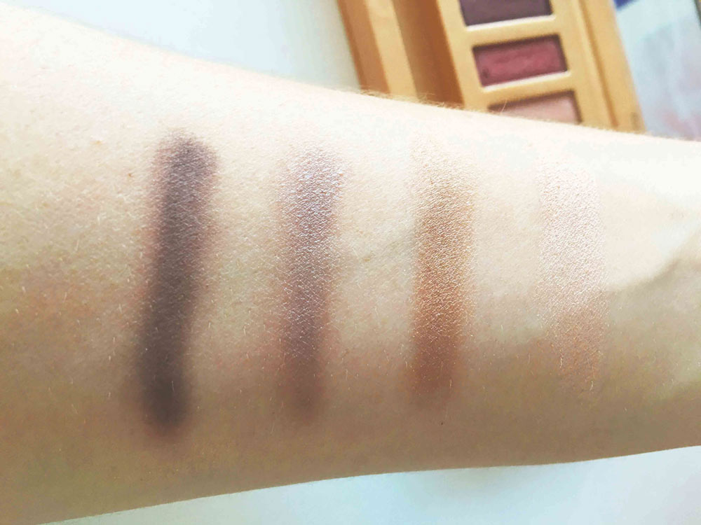 swatch palette couleur caramel 3